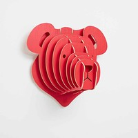 Bear Sculpture in Red - Urban Outfitters