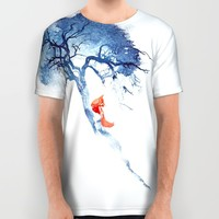 There's no way back All Over Print Shirt by Robert Farkas