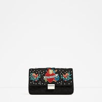 EMBROIDERED DETAIL CROSSBODY BAG DETAILS
