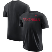 Men's Nike Cardinal Arkansas Razorbacks School Wordmark Performance T-Shirt