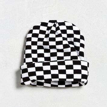 UO Checkered Beanie | Urban Outfitters