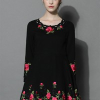Rose for Allure Flare Dress