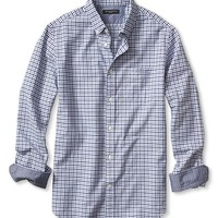 Slim Fit Tri Gingham Oxford Shirt