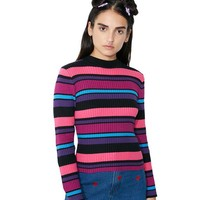 Jewel Stripe Knit