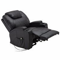 Modern Recliner Chair with Remote Control Heated Massage