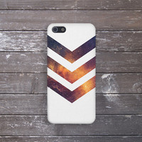 Chevron Galaxy Case for iPhone 5 iPhone 5S iPhone 4 iPhone 4S and Samsung Galaxy S5 S4 & S3