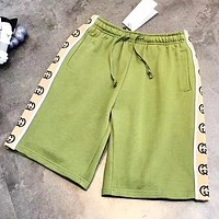 GUCCI New fashion letter print shorts Green