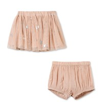 Stella McCartney Baby Pink Party Skirt with Bloomers