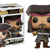 POP! DISNEY 273: PIRATES OF THE CARIBBEAN - CAPTAIN JACK SPARROW (PRE-ORDER)