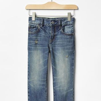 Gap Baby Distressed Straight Jeans