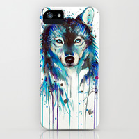 -Dark Wolf- iPhone & iPod Case by PeeGeeArts