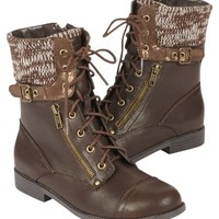 LACE-UP SWEATER BOOTS | GIRLS BOOTS SHOES | SHOP JUSTICE