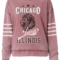 College Chicago Sweat - Sale - Sale & Offers - Topshop USA