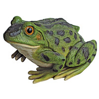 Park Avenue Collection Ribbit The Frog Garden Statue