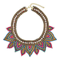 Mixed Bead Chain Collar - Jewelry - New In This Week - New In - Topshop USA