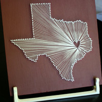 Texas Love // Nail and String Tribute to the Lonestar State