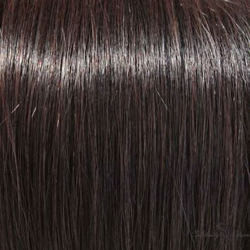 """16"""" Clip In Remy Hair Extensions: Off Black No. 1B"""