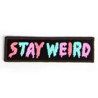Glamour Kills Clothing - STAY WEIRD PATCH
