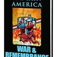 Marvel Comics Captain America War & Remembrance Hardcover Graphic Novel