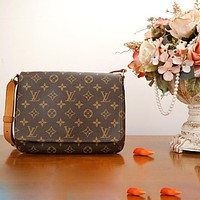 LV Messenger bag Printed Single Shoulder Bag Fashion Shopping Bag