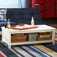 Beadboard Coffee Table