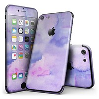 Punk Pink Absorbed Watercolor Texture - 4-Piece Skin Kit for the iPhone 7 or 7 Plus