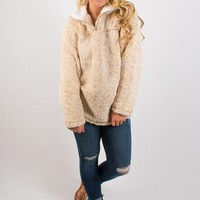 Cozy First Pullover - Taupe