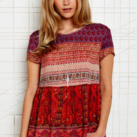 Staring at Stars Gauze Peasant Blouse at Urban Outfitters