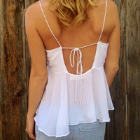 South Beach Babydoll Top