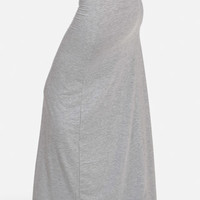 Trendy Cheap Light Gray Maxi Skirt in Skirts