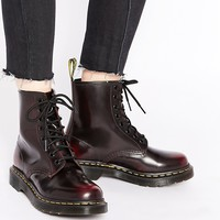 Dr Martens 1460 Cherry Red Arcadia 8-Eye Boots