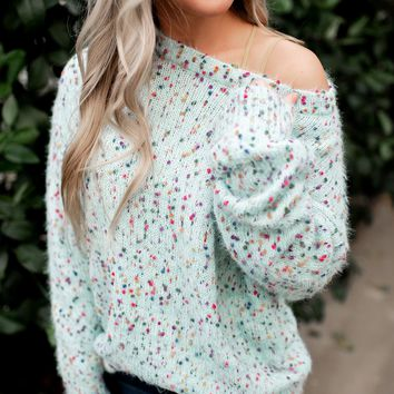 Never Enough Sweater (Mint)