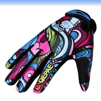 Premium Gifts Sports Running Cycling Gloves Men Cycling Gloves Biker Racing Mittens Sports Multicolor Full Finger Slip