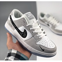 Dior x Nike SB DUNK LOW PRO Dior joint casual all-match sneakers show advanced temperament campus students men and women shoes