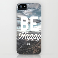 Be Happy iPhone & iPod Case | Print Shop