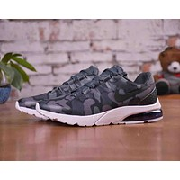 Nike Air Max Tavas Popular Men Personality Blue Camouflage Air Cushion Breathable Shock Absorption Sport Running Shoe Sneakers I-CSXY