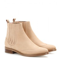 opening ceremony - coachella brushed-suede chelsea boots