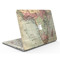 The Vintage African Map - MacBook Air Skin Kit