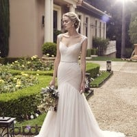 Casabanca Bridal Freesia 2234 Tulle Fit & Flare Wedding Dress