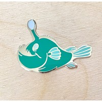 Anglerfish Hard Enamel Pin