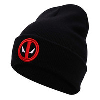 Hot Selling Beanie - DeadPool Inspired Embroidered Emblem