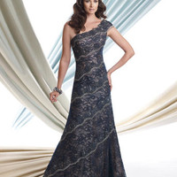 Mother of the Bride Dresses – Montage by Mon Cheri 113919 One Shoulder Lace