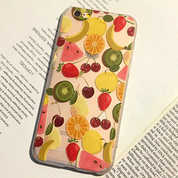 Fashion Fruits iPhone 6 6S Plus Case Solid Cover + Nice Gift Box 446