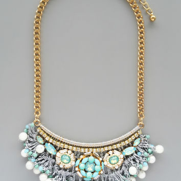 Mint Soliloquy Necklace - Handmade in NYC
