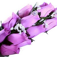 Lavender Bouquet Jewelry Roses