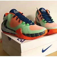 Nike Zoom Freak 1 EP atmospheric cushion barb logo combat basketball shoes