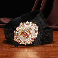 Versace new style Medusa buckle fashion luxury men's and women's personalized belts