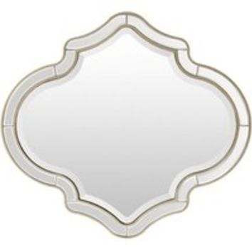 Adira Clear Frame Wall Mirror | Overstock.com Shopping - The Best Deals on Mirrors