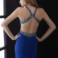 Jasz Couture Sexy Fitted Dress 5038
