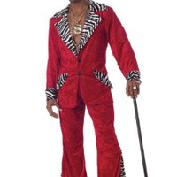 California Costumes Men's Pimp Costume:Amazon:Clothing